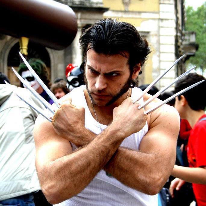 Cosplay Wolverine