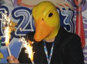 alex duck face