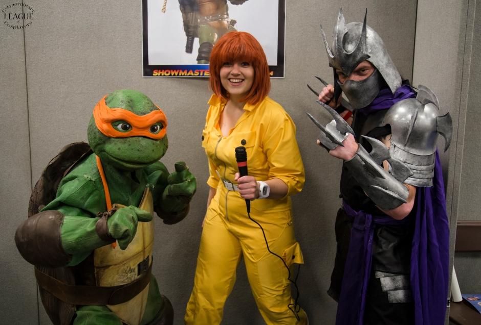 Character - Teenage Mutant Hero Turtles PS