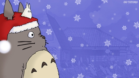christmas totoro